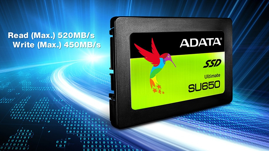 Чисто нови SSD Adata SU650 120GB